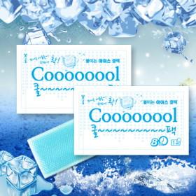 붙이는 냉각시트 Coooool 아이스 쿨팩 30장/붙이는쿨팩/쿨패치