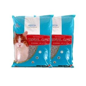 [고양이모래] 로얄캣 무향 1박스 (10kg 2포)