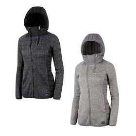 [LANEBY] 래인바이 여성 니팅방풍구스 웜-업 자켓