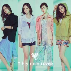 Thyren Lovee 티렌러비 컬러슬러시 썸머자켓 1종+파우치