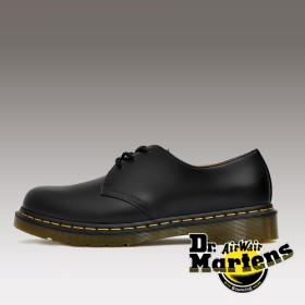 [당일출고] 닥터마틴 1461 3홀 깁슨 스무스 블랙 Dr.Martens 1461 3eye Gibson (Black)_DM-R11838002-Black