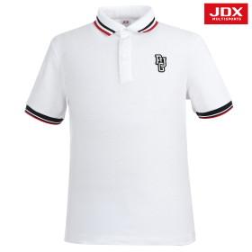 [JDX] 남성 자수와펜 요꼬티셔츠 (X0NDTSM01WH)
